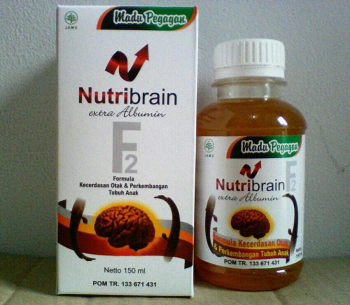 Madu Nutribrain Nutri Brain Extra Albumin Pegagan 150 ml .