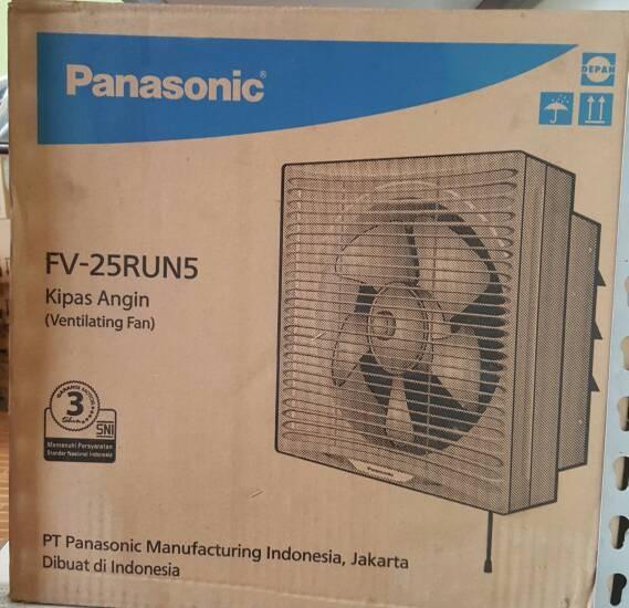 harga Panasonic - exhaust fan fv-25run5 Tokopedia.com