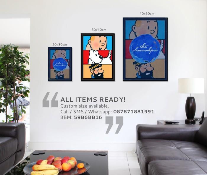 harga Poster tintin - team [30x40cm] Tokopedia.com