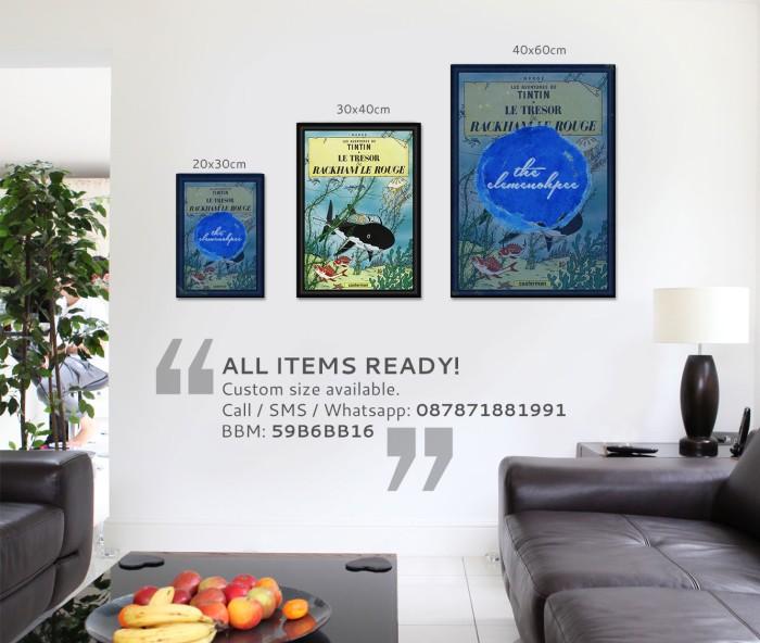 harga Poster tintin - le tresor & rackham le rouge [30x40] Tokopedia.com