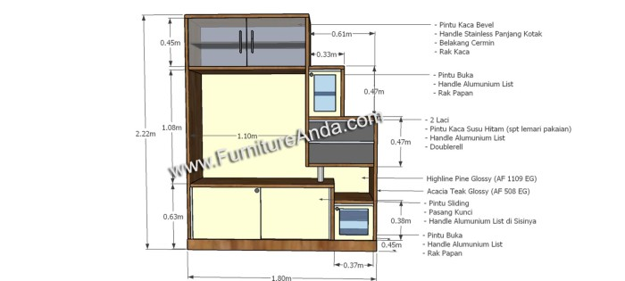 harga Bufet lemari rak pajangan meja tv minimalis modern - fresno Tokopedia.com