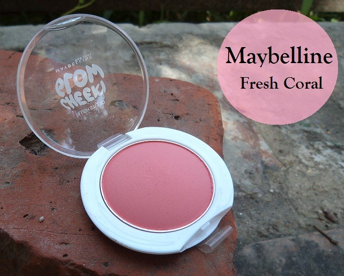 Maybelline Cheeky Glow Peachy Sweetie / Wooden Rose