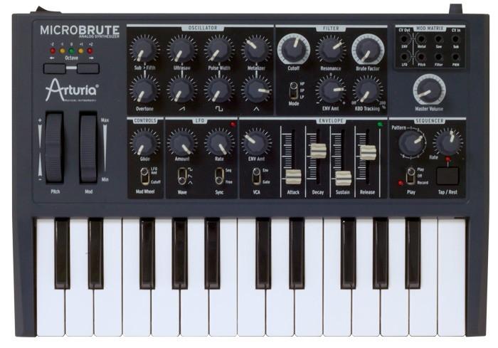 harga Arturia microbrute - pure analog synthesizer Tokopedia.com