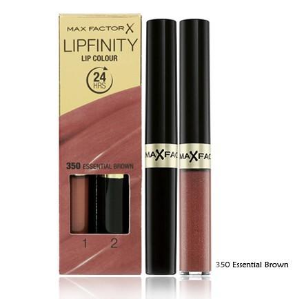 Max Factor Lipfinity Lip Colour 24hr 350 Essential Brown