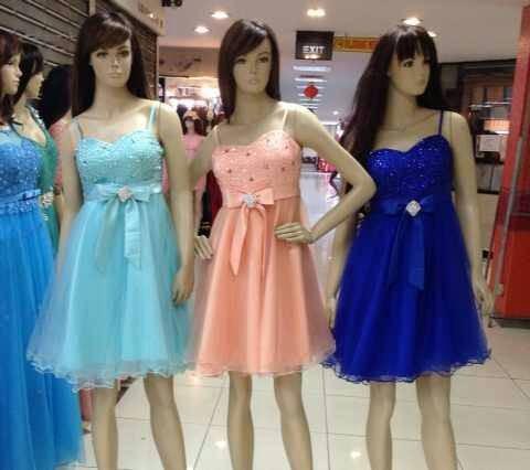 Jual Dress Pesta Import Gaun Pesta Korea Baju Pesta Pendek Cek Harga