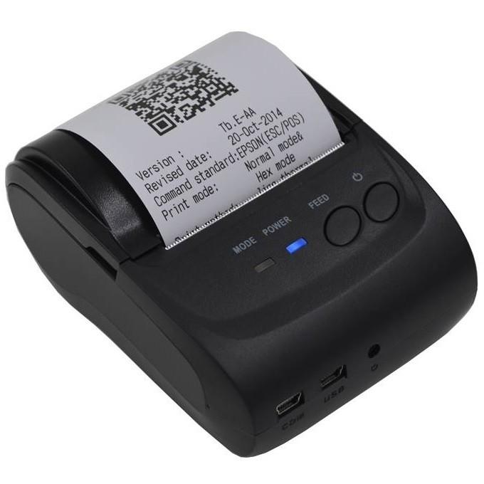 harga Zjiang Mini Portable Bluetooth Thermal Printer - Zj-5802 Tokopedia.com