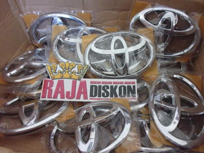 Foto Produk Emblem Logo Toyota Agya Depan Chrome Ganti Logo Burung dari RAJA DISKON
