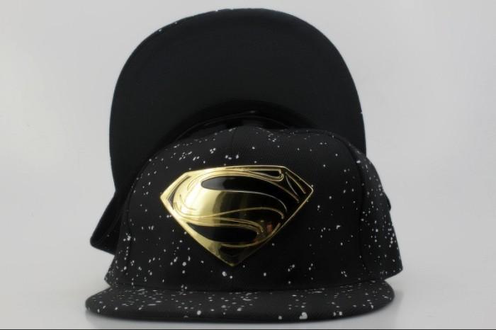 Jual Produk dan Promo Topi Snapback Superman Hitam Metal Gold Import ... ead19f021c