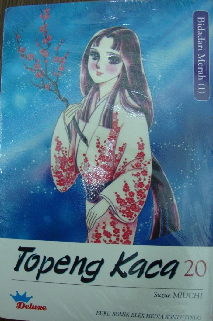 harga Topeng kaca 20 (bidadari merah 1) deluxe Tokopedia.com