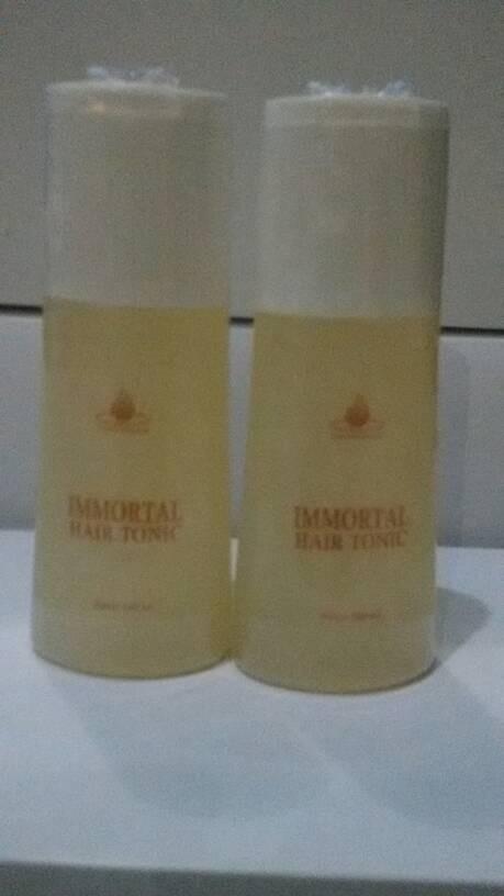 harga Immortal hair tonic - merawat kesuburan & kekuatan akar rambut Tokopedia.com