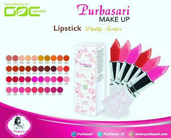 Katalog Lipstik Purbasari Daily Series Travelbon.com
