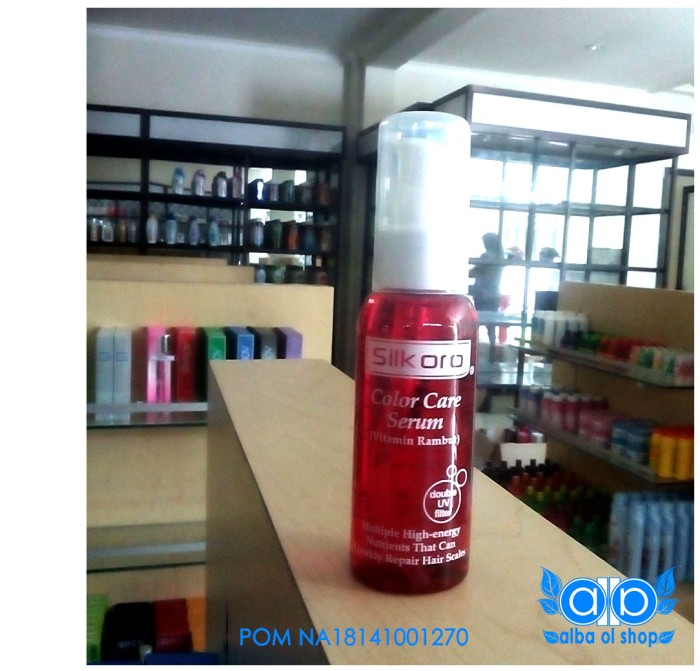 Silkoro Biru Vitamin Rambut 80ml 100 Ori Bpom Daftar Harga Source · Jual Color Care Serum