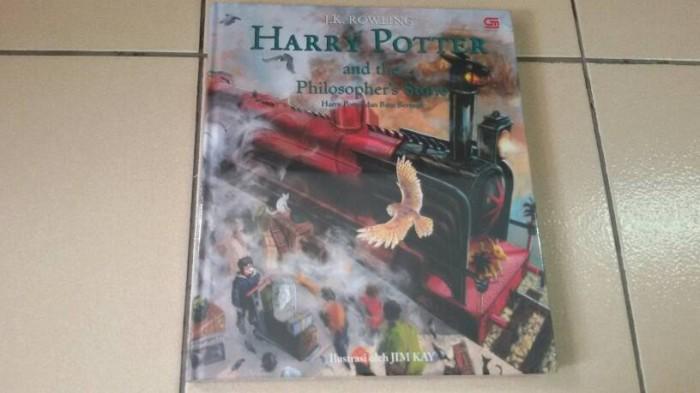harga Novel harry potter and the philosopher's stone (illustrated edition) Tokopedia.com