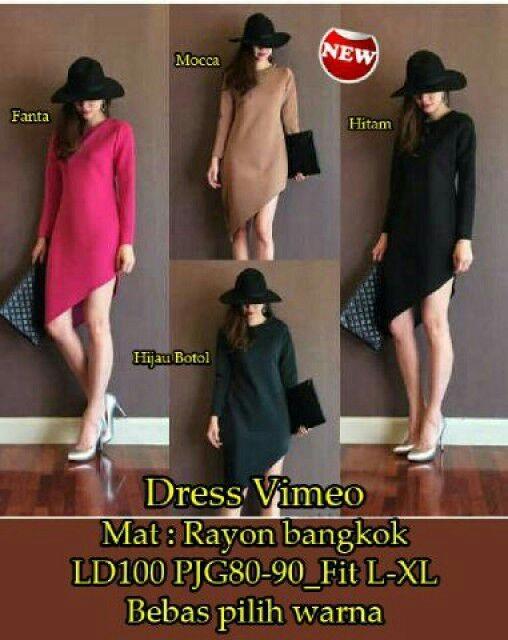 harga Mini dress/ dress/ fashion/ dress vimeo - sw Tokopedia.com