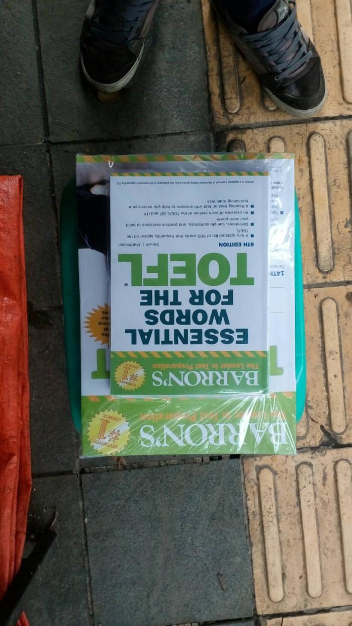harga Toefl barron's 14th edition plus essential words dan 3 cd audio Tokopedia.com