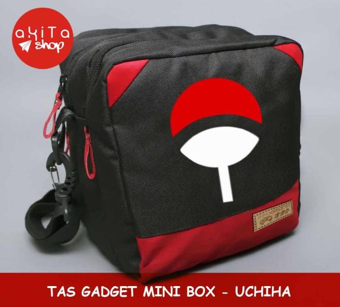 harga Tas gadget mini box - sasuke uchiha anime naruto Tokopedia.com