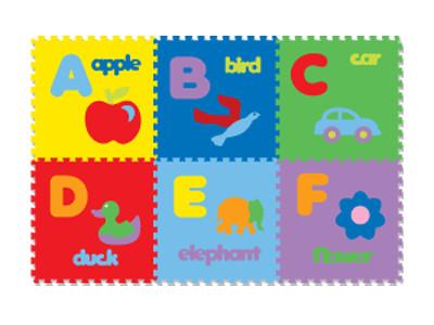 harga Mainan anak - matras / alas lantai / puzzle evamats abjad gambar Tokopedia.com