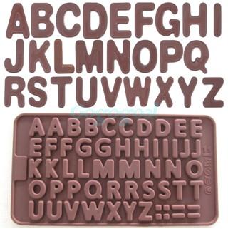 J235 abcd choco mould cetakan silicone baking tools coklat puding clay