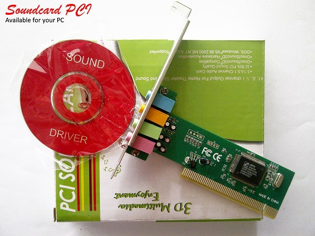 harga Sound card slot pci Tokopedia.com