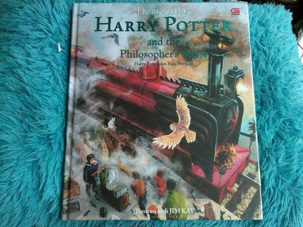 harga Harry potter and the sorcerer's stone illustrated edition Tokopedia.com