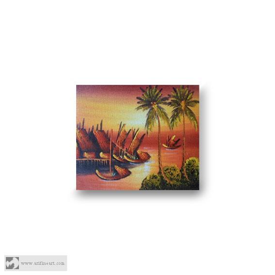 harga Lukisan sunset Tokopedia.com