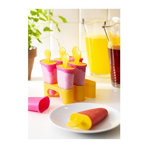 ... harga Ikea chosigt cetakan es loli, pink-kuning / biru-hijau Tokopedia.