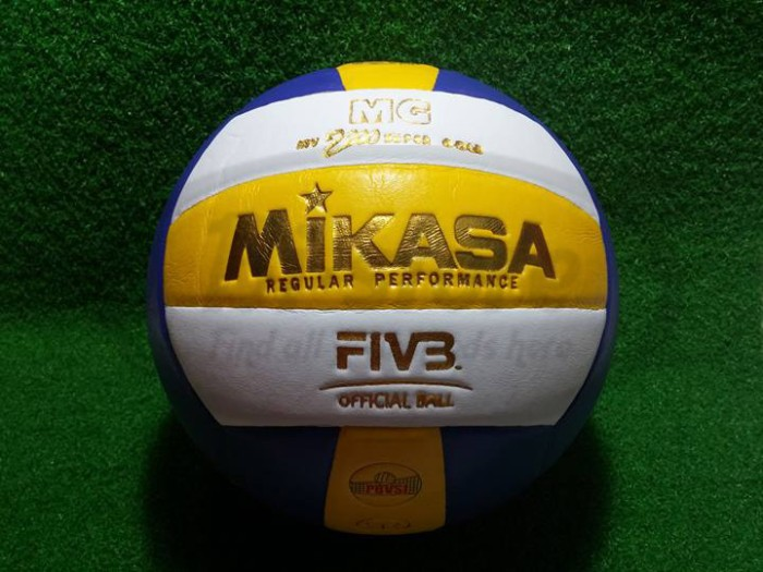 Bola Volly Voli Mikasa MV 2200 Super Gold Bahan Seperti Ori