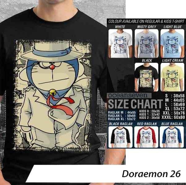 Kaos OceanSeven - Doraemon Graphic 26-30