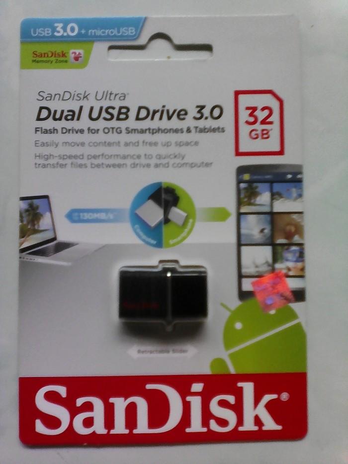 harga Flashdisk otg usb sandiks original 32 gb smartphone tablet laptop dll Tokopedia.com