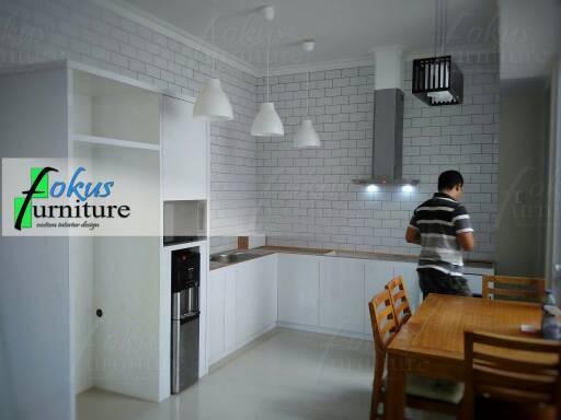 Jual Kitchen Set Minimalis Lemari Dapur Hpl Fokusfurniture
