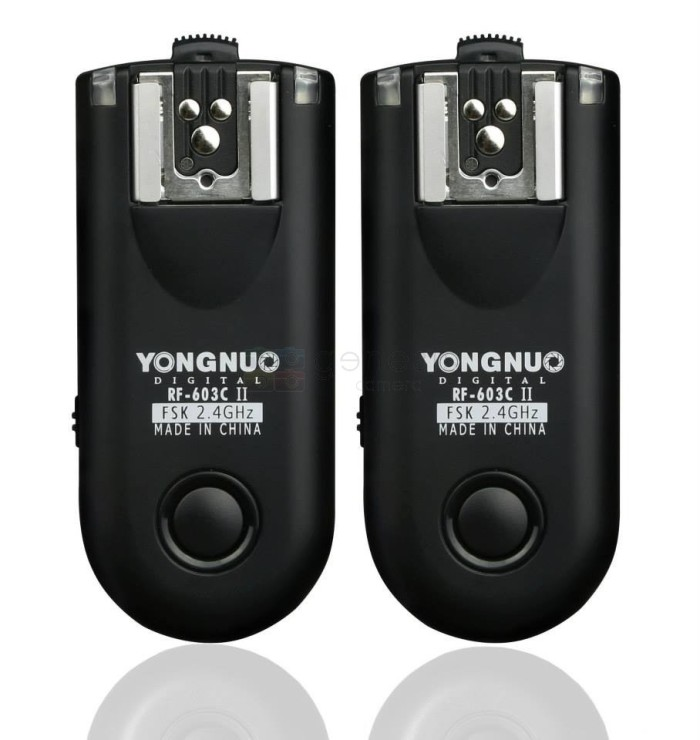 harga Flash trigger yongnuo rf 603 ii nikon n3 Tokopedia.com