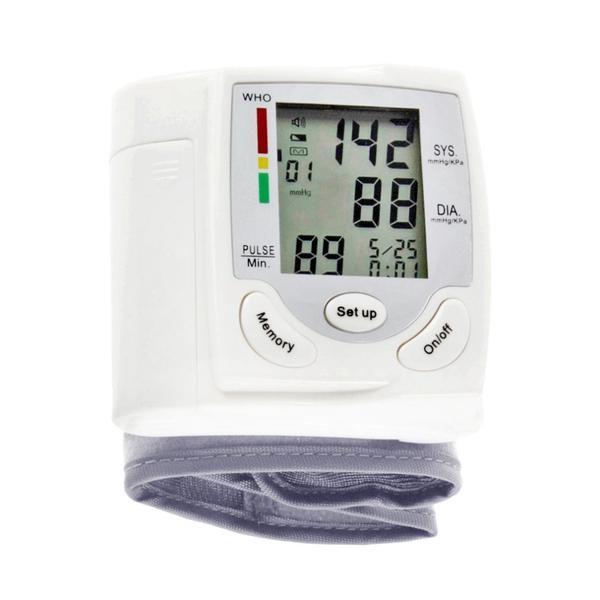 Foto Produk Wrist Blood Pressure Meter Sphygmomanometer tensi meter detak jantung dari Online Shop Save