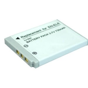 harga Baterai batere kamera nikon en-el8 coolpix s52c p1 p2 s1 s2 s3 s5 s52 Tokopedia.com
