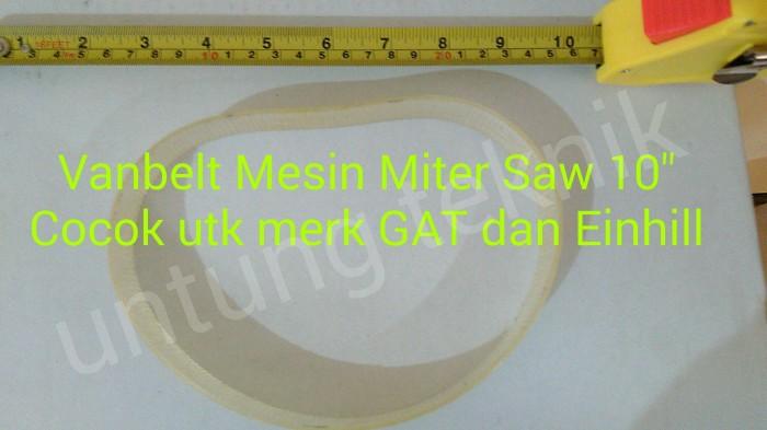 """Foto Produk Van Belt / V belt Mesin Miter Saw 10"""" dari Untung Teknik"""