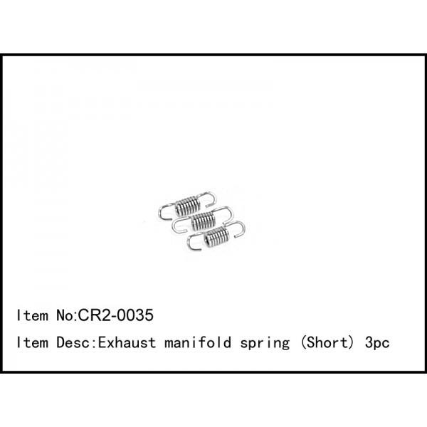 harga Rc car engine/nitro per pendek exhaust manifold spring (short) 3pcs Tokopedia.com