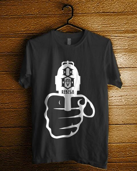 harga Kaos rebel-eight_10 Tokopedia.com
