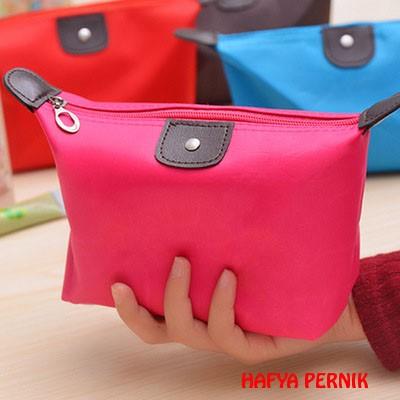 Foto Produk tas dompet kosmetic cosmetic pouch longchamp tempat make up- ORI dari hafya pernik