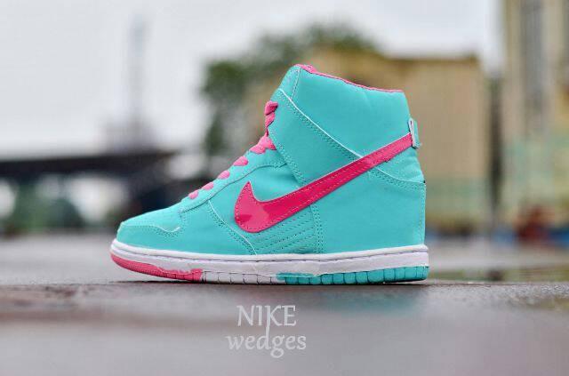 harga Sepatu sport  wanita senam zumba aerobik nike dunk sneaker wedges Tokopedia.com