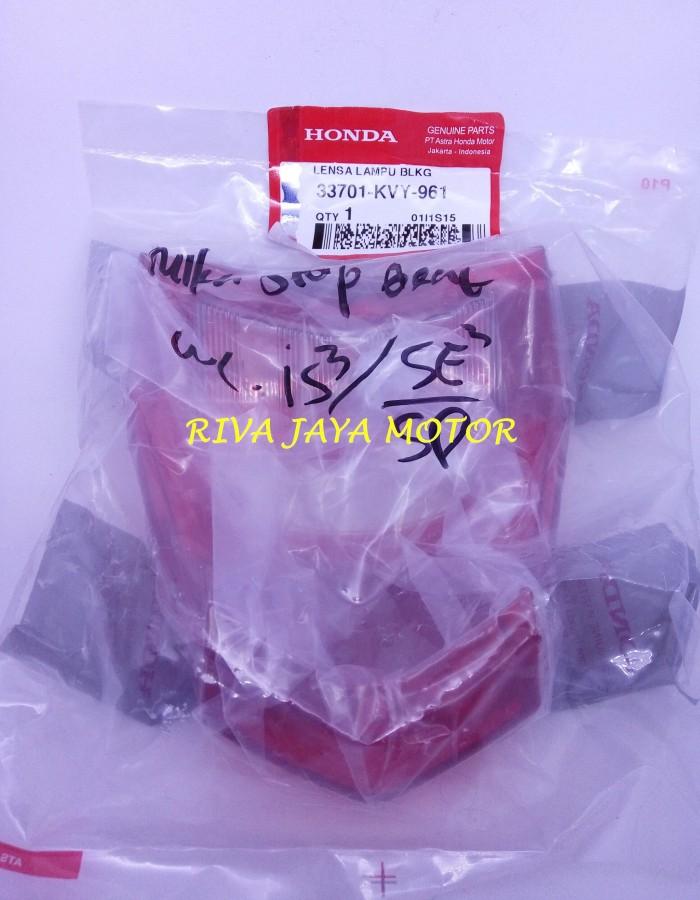 harga Kaca lampu belakang / mika stop beat karburator original honda (ahm) Tokopedia.com