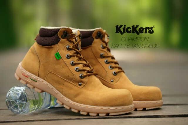 Kickers Safety Tan  Sepatu Boots Pria  Sepatu Kickers Boots Pria Murah 7eac7c46fd
