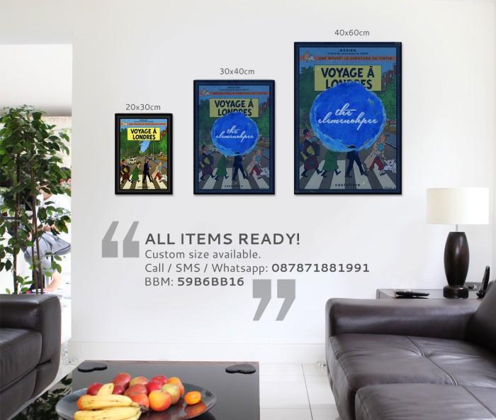 harga Poster tintin - voyage a londres [20x30cm] Tokopedia.com