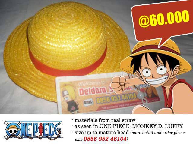 Jual Luffy Hat Topi Jerami Anime Manga One Piece Mugiwara Strawhat Pirate Kab Bekasi Toko Cosplay Deimaru Tokopedia