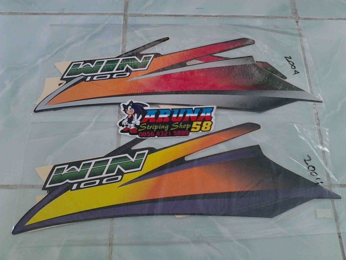 harga Striping/sticker/lis motor honda win 2004 Tokopedia.com
