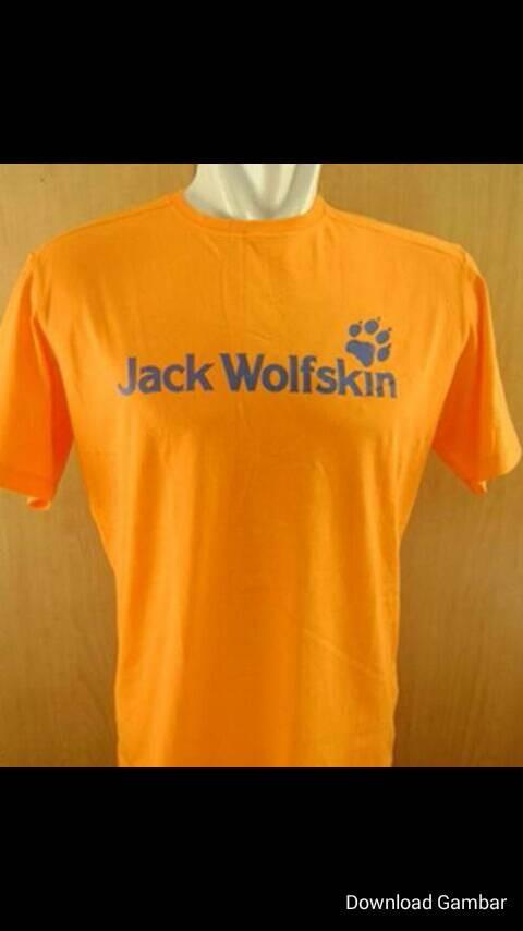 kaos/t-shirt/baju jack wolfskin