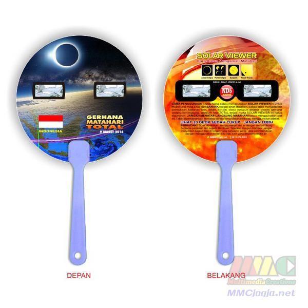 harga Kacamata gerhana matahari kipas - mata dan wajah aman Tokopedia.com