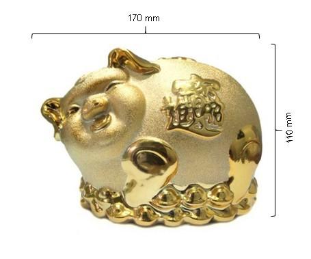 harga Celengan babi wf014 gold Tokopedia.com
