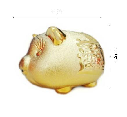 harga Celengan Babi Wf005 Gold Tokopedia.com