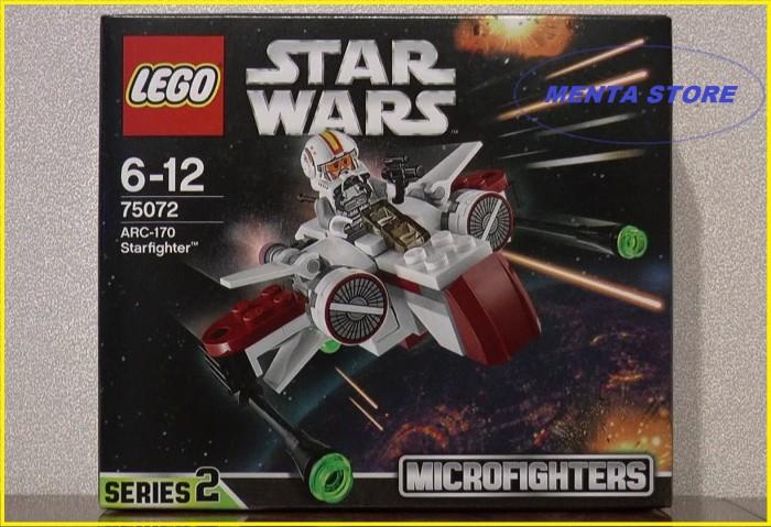 harga Lego star wars # 75072 arc 170 starfighter microfighters series 2 Tokopedia.com