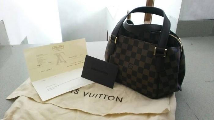 Jual preloved tas louis Vuitton original belem damier - kebaya ... 477801ef37