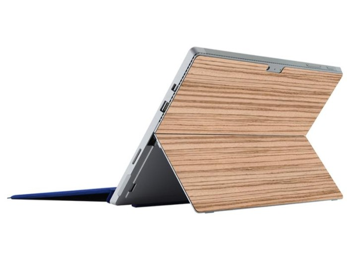harga 3m Microsoft Surface Pro 4 Wood Skin Tokopedia.com